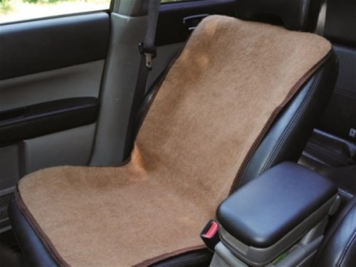Накидка на автомобільне сидіння з верблюжої вовни