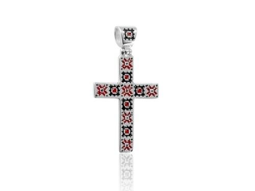 Підвіска-хрест Богдана (срібло)