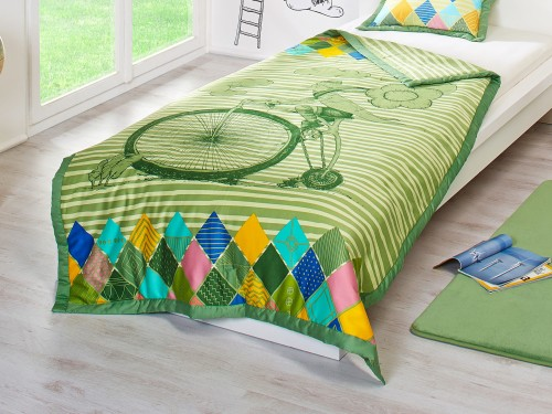 Verde Ковдра дитяча «Велосипед» Dormeo