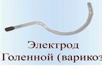 """Електрод для дарсонваля """"Корона"""" гомілковий"""