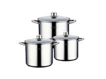 Набір посуду з нержавіючої сталі (6 предметів)