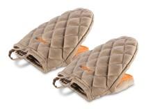 Chef Кухонні рукавички із силіконовими вставками Delimano