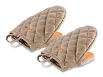 Кухонна рукавичка із силіконовими вставками, 2 шт Delimano