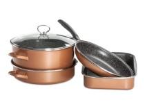 Набір посуду Grande Delimano CopperLUX