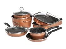 Набір посуду Mega Delimano CopperLUX
