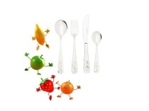 Столові прибори Gourmet - дитячий набір (4 предмети) Delimano