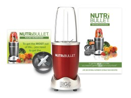 NutriBullet 600 Вт (червоний) Delimano
