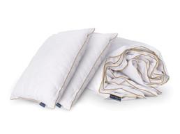 Набір ковдра та 2 класичні подушки Zlata Dormeo