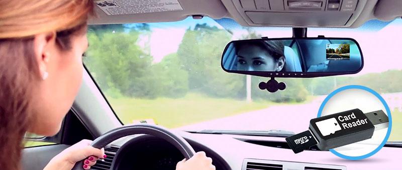 Відеореєстратор Mirror Cam