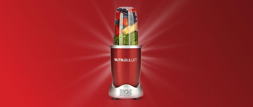 Червоний NutriBullet 600 - економію подвоєно!