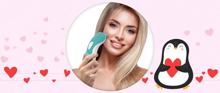 Прилад для очищення шкіри Velform Vacu Clear™ Wellneo