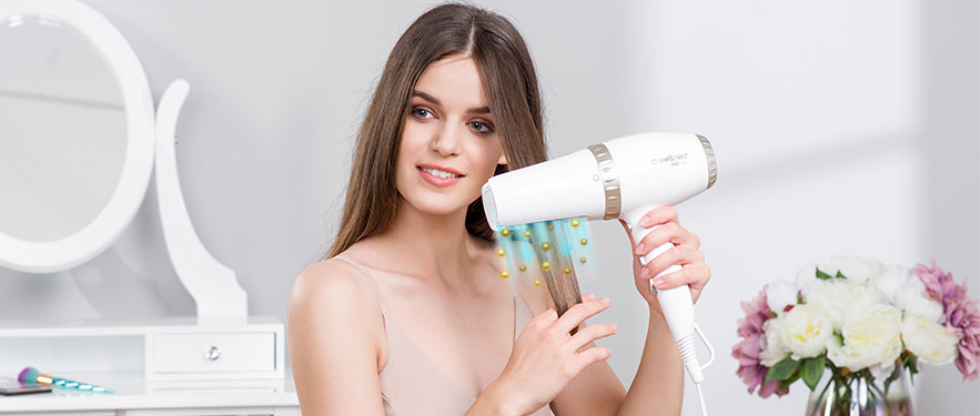 Професійний фен-вирівнювач для волосся 2в1 Wellneo